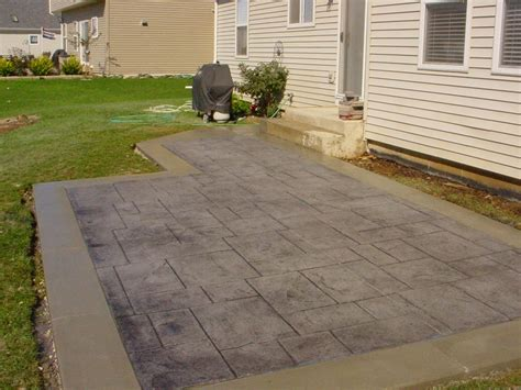 sted concrete patios concrete patio ideas for your