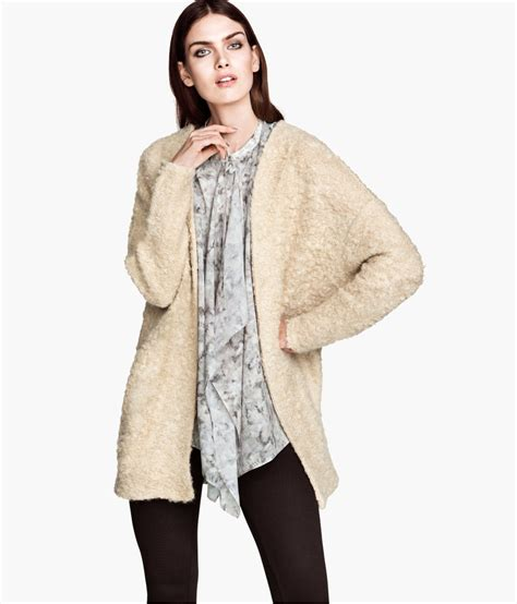 Cardigan H M H M Mohair Blend Cardigan In Lyst