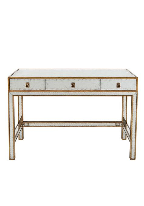 3 drawer console table daphne mirrored 3 drawer console table 110cm