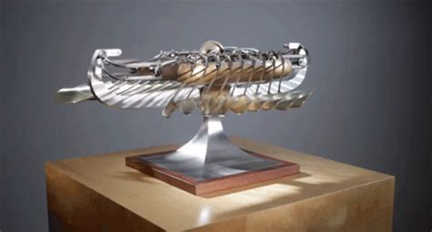 Hummingbird Chandelier Kinetic Sculpture A History Lesson From Duchamp To