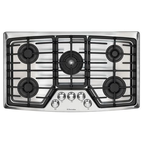 Electrolux Gas Cooktop electrolux ew36gc55gs 36 quot gas cooktop sears outlet