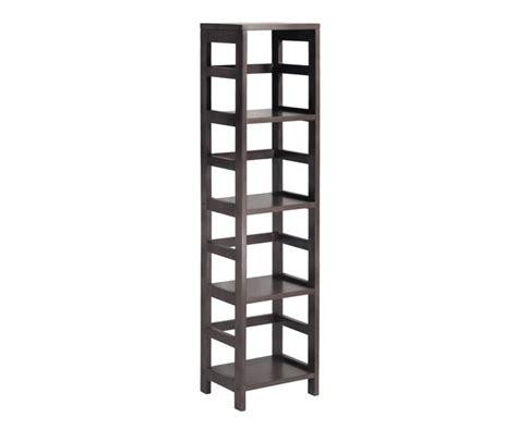 Winsome Wood 4 Shelf Narrow Shelving Unit by Winsome Wood 92514 Tier Leo Bathroom Shelf
