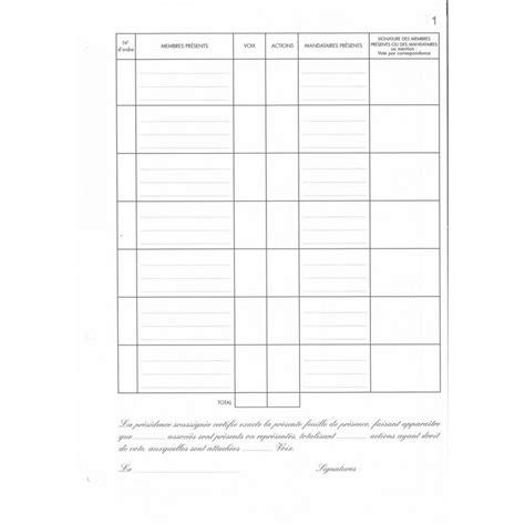 Mod Les De Lettre De Compte Rendu modele feuille de presence reunion gratuit document
