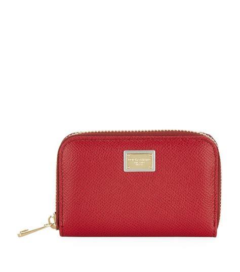 Dolce And Gabbana Zip Purse by Lyst Dolce Gabbana Small Zip Around Wallet In