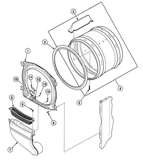 speed dryer parts diagram cylinder diagram parts list for model sdg109wf speed