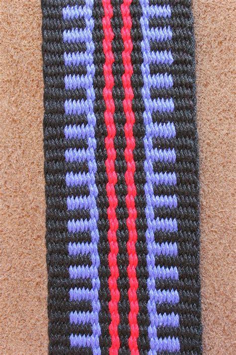 pattern inkle loom aspinnerweaver a dozen plain weave pattern drafts inkle