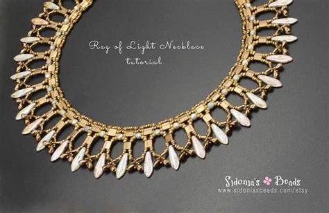 tila bead necklace patterns beading tutorial beaded necklace pattern tila