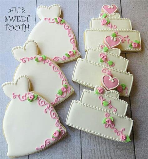 Wedding Cookie Ideas by 837 Best Engagement And Wedding Cookie Ideas Images On
