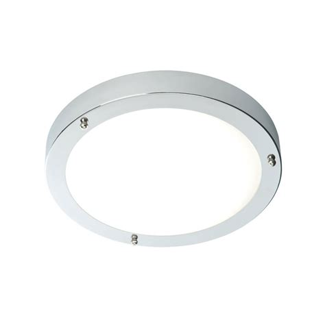 Saxby 54676 Portico 1 Light Led Chrome Bathroom Flush Fitting Led Bathroom Light Fittings