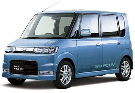 Small Daihatsu Cars Daihatsu Tanto Fchv Mini Mpv Review Hydrogen Cars Now