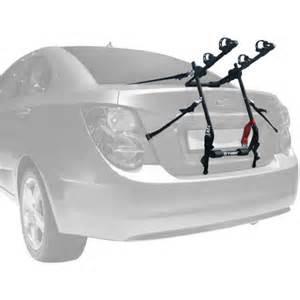 tyger deluxe trunk mount 2 bike carrier rack for sedan