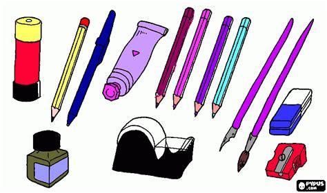 imagenes de utiles escolares en ingles para imprimir utiles escolare para colorear utiles escolare para imprimir