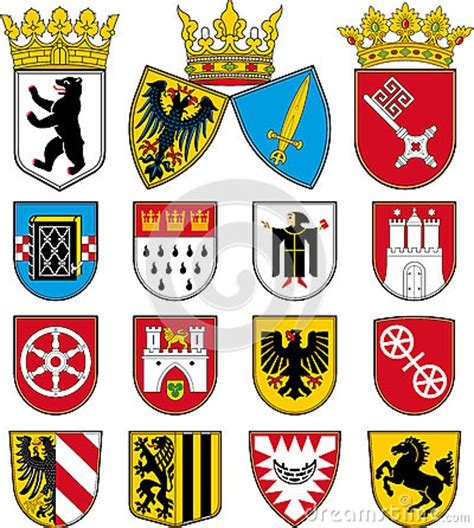 stuttgart coat of arms coats of arms of cities in germany stock photo image