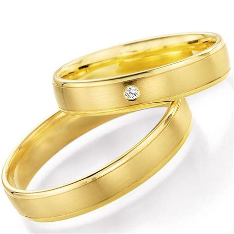 Eheringe Schlicht Gold by Schlichte Eheringe Aus Gelbgold