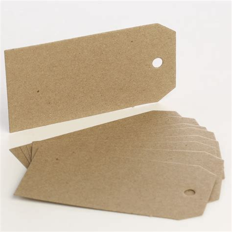 Craft Paper Tags - blank craft paper tags tags basic craft supplies