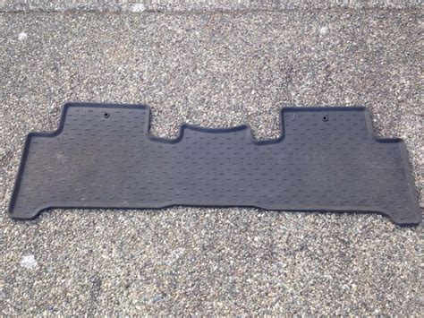 Acura Mdx Rubber Floor Mats by Acura Mdx Oem All Weather Mats Auto Parts In Renton Wa