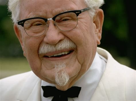 biography of colonel sanders image gallery harland sanders