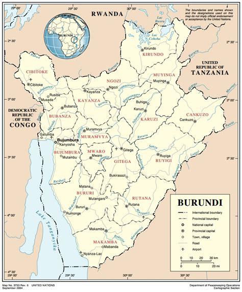 un cartographic section burundi ecoi net european country of origin