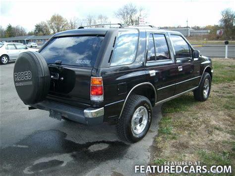 how cars engines work 1992 isuzu rodeo user handbook 1992 isuzu rodeo plainfield in used cars for sale featuredcars com