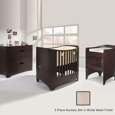 Crib Dresser And Changing Table Set Tulip Leander 2 Nursery Set Crib Conversion Kit Changing Table And 4 Drawer Dresser