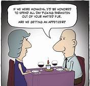 Romantic Funny Cartoons Quotes  About