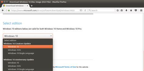install windows 10 from usb uefi how to easily create windows 10 bootable usb on ubuntu or