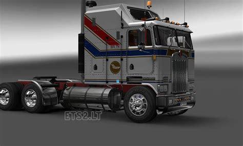 kenwood truck dealer kenworth k100 bicentennial skin ets 2 mods