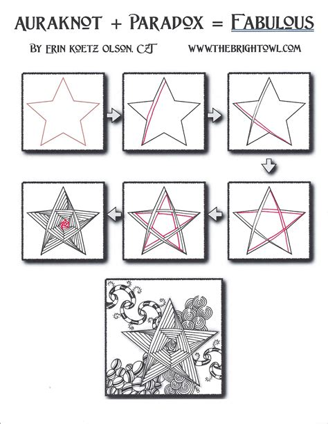 how to draw doodle pdf the bright owl tutorial auraknot paradox fabulous