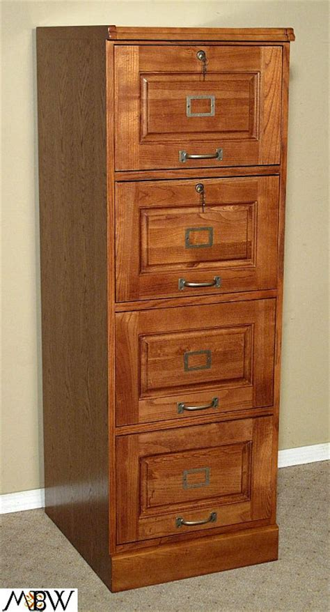 Oak Filing Cabinet 4 Drawer Mission Oak Four Drawer File Filing Cabinet