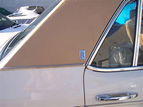 Vinyl Car Upholstery by Rolls Royce Vinyl Top Auto Upholstery By Aj Northridge Ca
