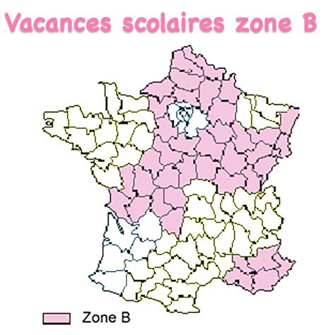 Zone B Calendrier Scolaire 2014 Vacances Scolaires Zone B