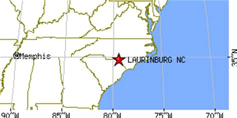 laurinburg carolina map laurinburg carolina nc population data races