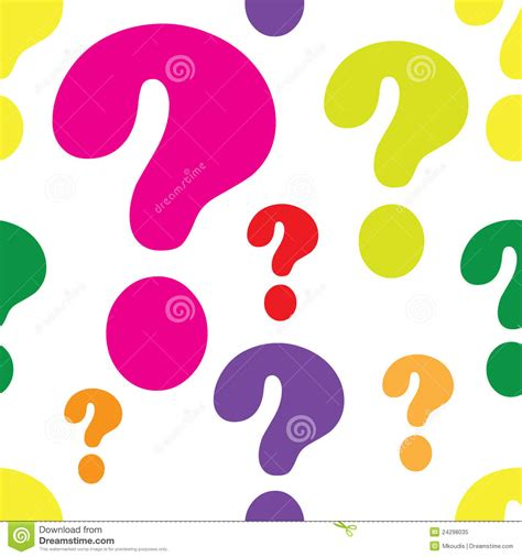 pattern matching question mark question mark seamless royalty free stock photo image