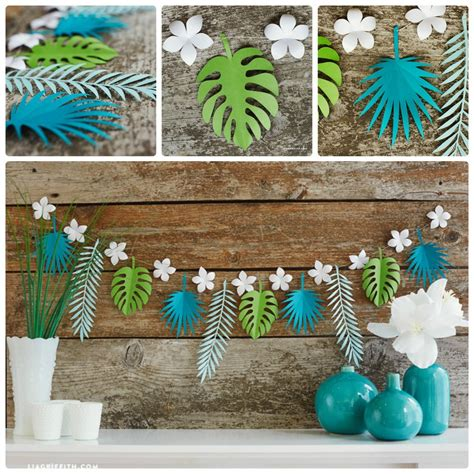 paper garlands home decor    happier obsigen