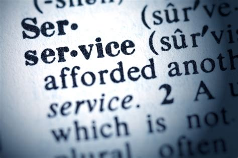service definition how to write a strong personal customer service definition