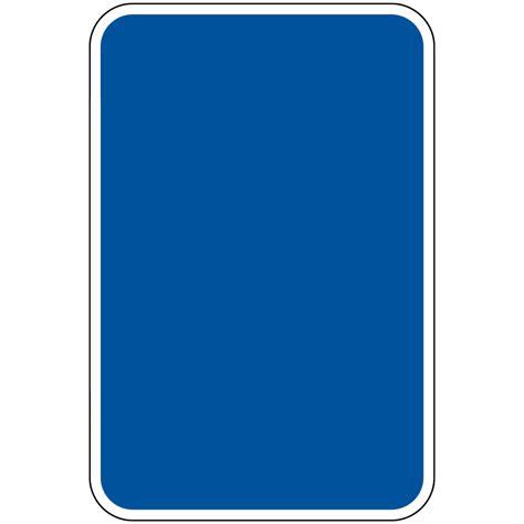 blue blank write on sign pke blue blank parking blank write on