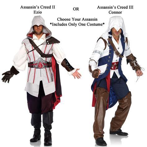 assasins creed robes assassin s creed ii iii ezio or connor
