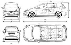 mazda 5 dimensions images