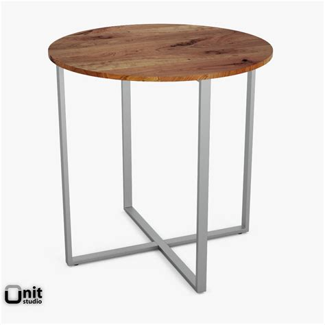 elm counter table rustic counter table by elm 3d model max obj