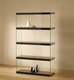 Tempered glass display cabinet modern home office accessories