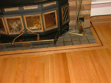 Fireplace Floor by How To Install Hardwood Flooring Around A Fireplace Hearth