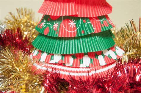 12 days of christmas crafts day 2 cupcake liner christmas