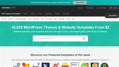 best themeforest themes the best places to buy themes 2019 siteturner
