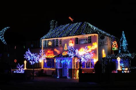 best christmas decorated homes christmas 2014 search for surrey s best decorated house