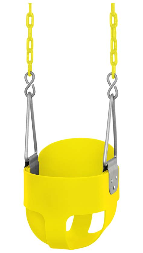 coated swing chain swingan high back full bucket toddler baby swing