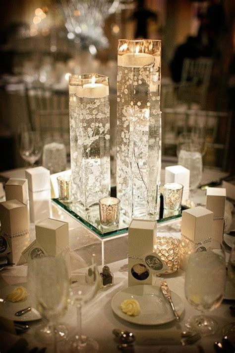 wedding table decoration ideas with candles 90 inspiring winter wedding centerpieces you ll