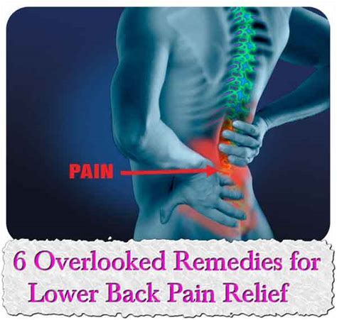 Home Remedies For Lower Back by 6 Overlooked Remedies For Lower Back Relief