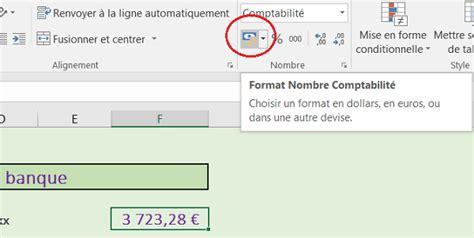 format excel kilo euro cr 233 er des tableaux et r 233 aliser des calculs excel