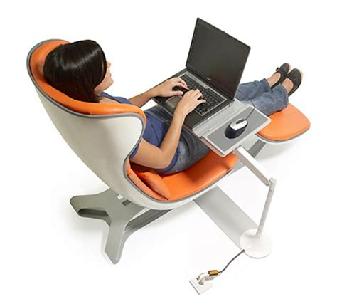 Comfortable Work Chair Design Ideas Futuristic Home Office Chair