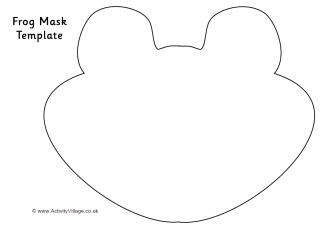 printable frog eyes frog mask pattern 1000 free patterns